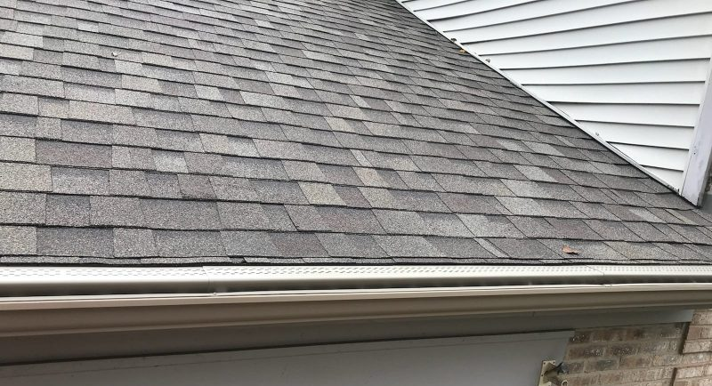 new shingles and gutters